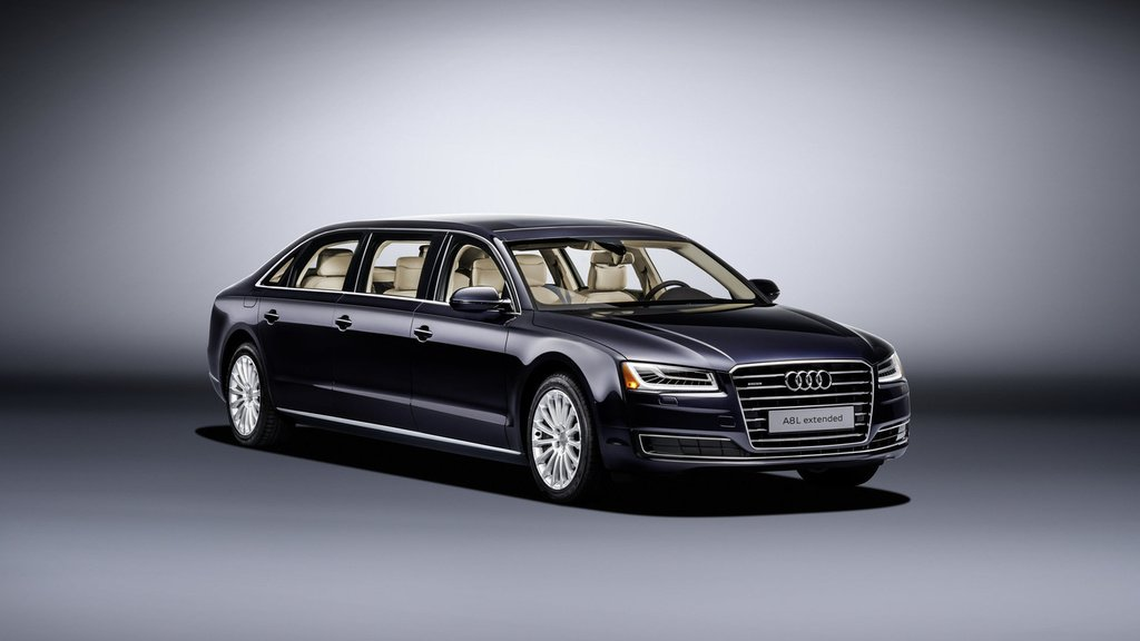 Audi A8 L Extended - Six doors and more than six meters long