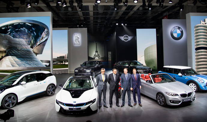 BMW Group announces best month ever