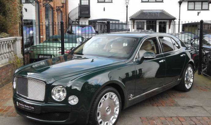 Bentley Mulsanne owned by the Queen, up for auction