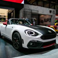 Fiat 124 Spider Abarth introduced in US