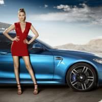 Gigi Hadid promotes the new BMW M2