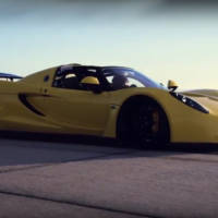 Hennessey Venom GT Spyder - New speed world record