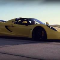 Hennessey Venom GT Spyder - New speed world record