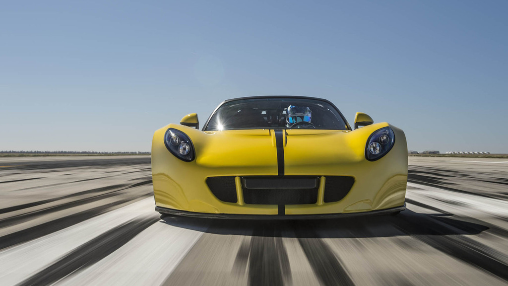 Hennessey Venom GT Spyder is the fastest convertible on the planet (+Video)