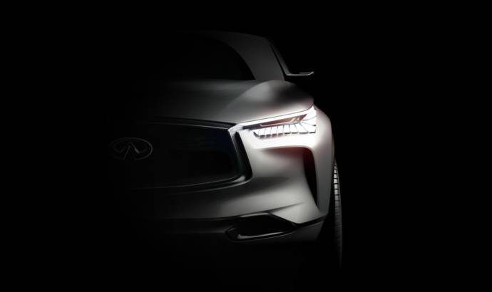 Infiniti QX Sport Inspiration concept teased