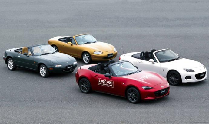 Mazda MX-5 reaches 1 million units produced