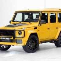 Mercedes-Benz G63 AMG modified by Brabus