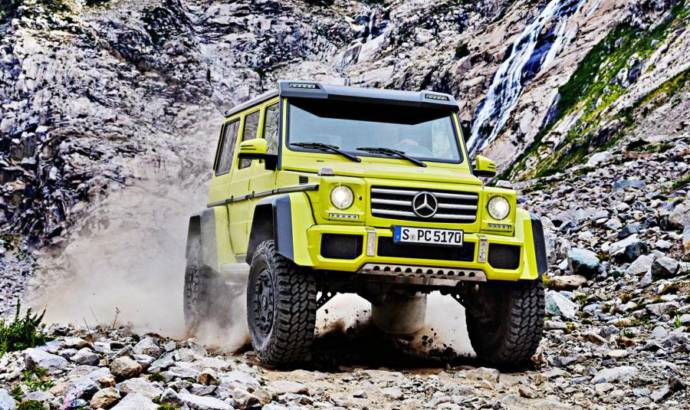 Mercedes-Benz might sell the G500 4x4 in the U.S.