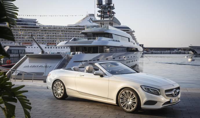 Mercedes S-CLass Convertible UK pricing