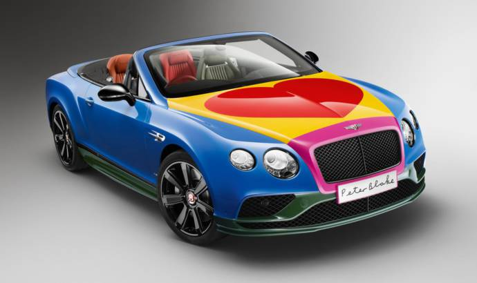 Peter Blake designs a one-off Bentley Continental GT V8 S Convertible