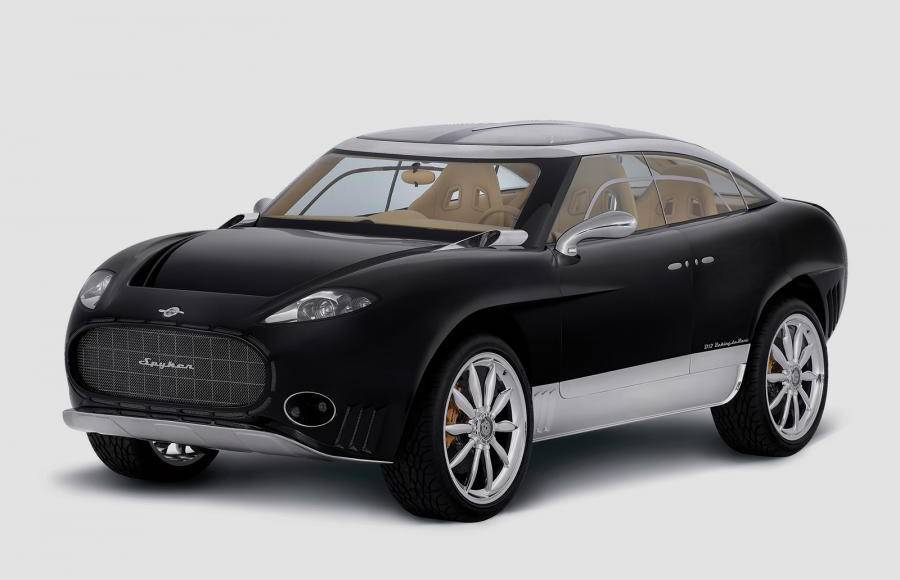 Spyker will develop a crossover. It will be available with a V12 or in an electric version
