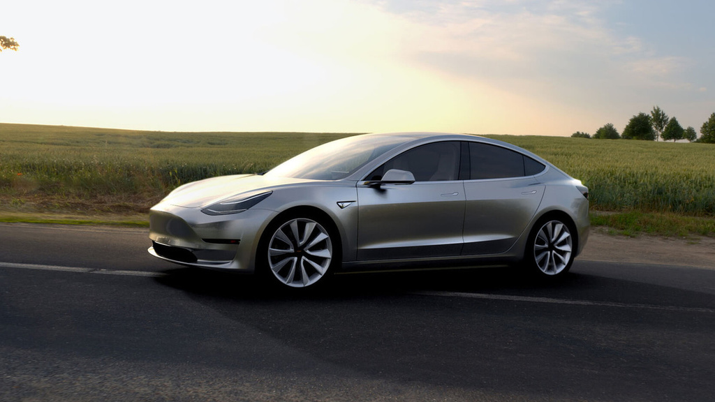 Tesla Model 3 - 325.000 pre-orders in one week