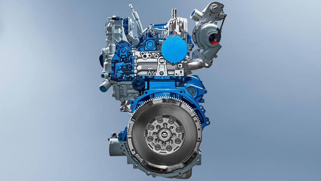 This is the new Ford EcoBlue diesel engine