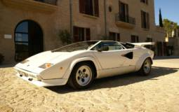 Two very rare Lamborghini Countach to be auctioned at Silverstone