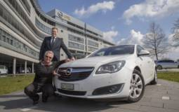 Vauxhall Insignia drives 1300 miles on a single tank
