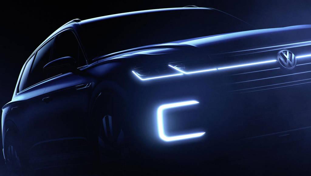 Volkswagen is previewing new Touareg in Beijing