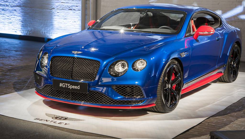 2016 Bentley GT Speed launched in US with four versions
