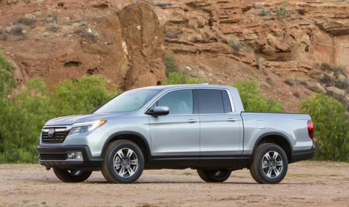 2017 Honda Ridgeline enters production in Alabama