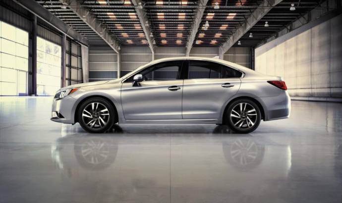2017 Subaru Legacy Sport introduced in US