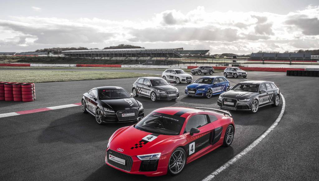 Audi Driving Experience organized on Silverstone