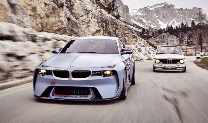 BMW 2002 Hommage Concept - Back to the future