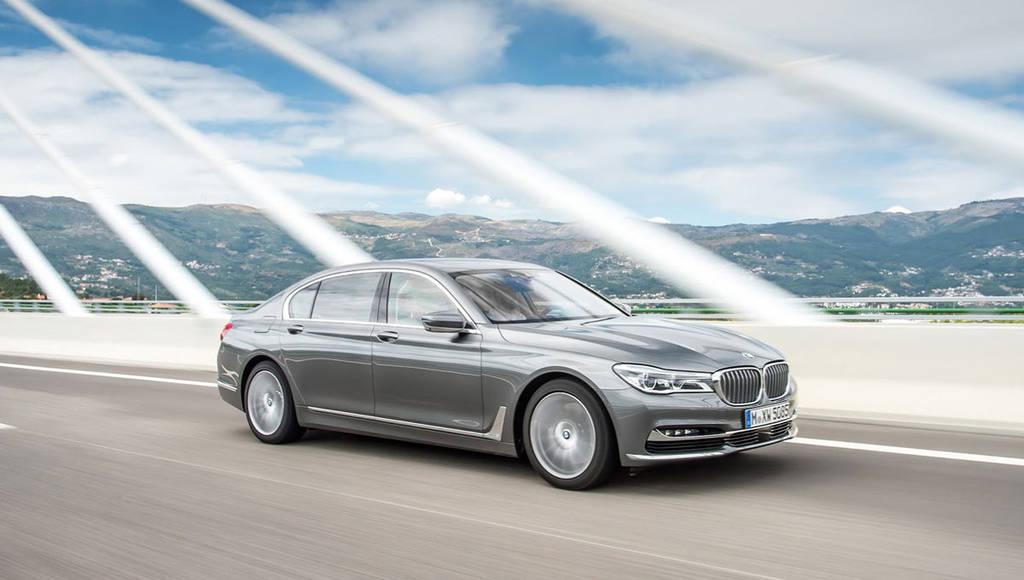 BMW 750d xDrive has the all-new 3 liter diesel quad-turbo engine
