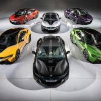 BMW i8 receives Individual paint treatment