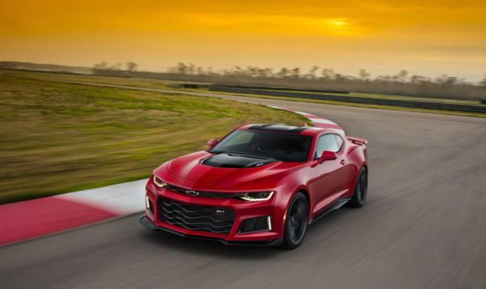 Chevrolet Camaro ZL1 to receive 10 speed transmission