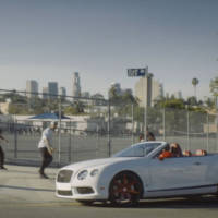 Funny commercial for insurance company destroys a Bentley Continental GT