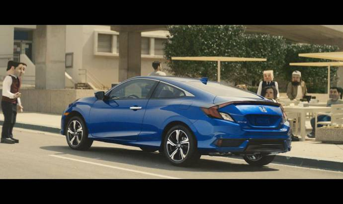 Honda Civic Coupe new commercial aired in the US