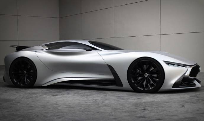 Infiniti Concept Vision Gran Turismo available