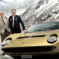 Lamborghini Miura turned 50