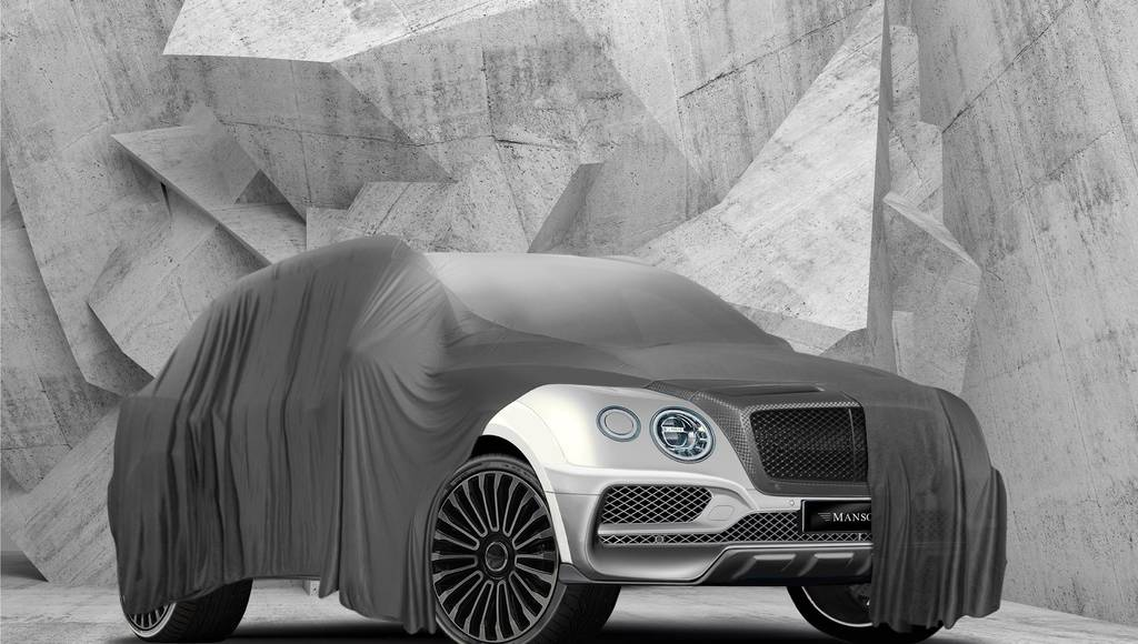 Mansory teases a unique Bentley Bentayga