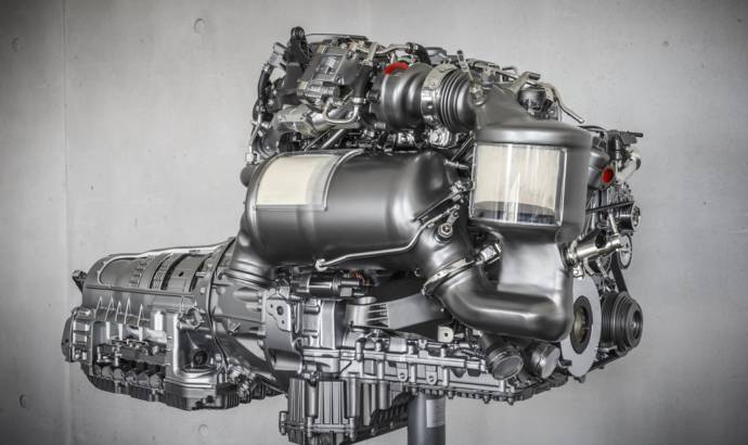 Mercedes E220d uses a new generation diesel