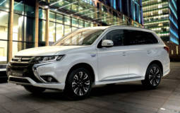 Mitsubishi Outlander PHEV reached 100.000 units