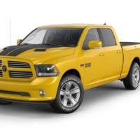 Ram 1500 Stinger Yellow Sport introduced in the US