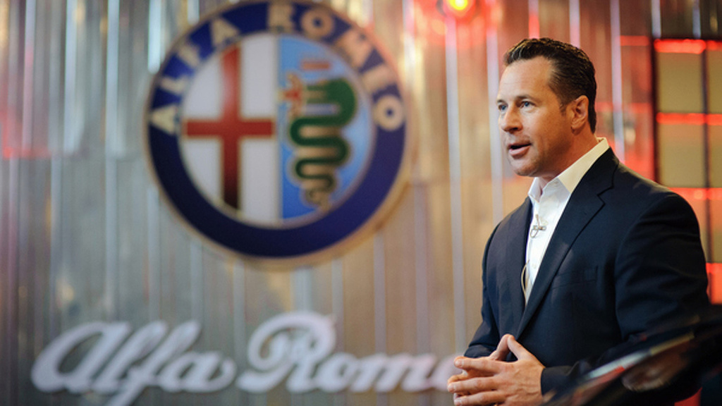 Reid Bigland is the new Alfa Romeo and Maserati CEO