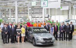 Skoda Superb production reaches 100.000 units