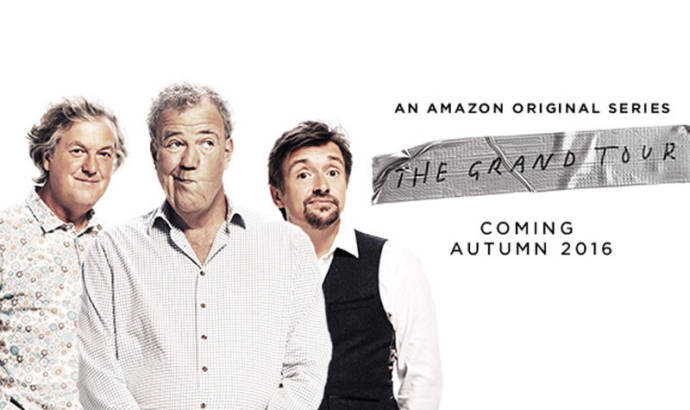The Grand Tour is the name of the new Clarkson and company show