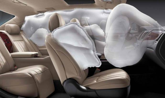 Toyota announced a new 1.5 million airbag recall