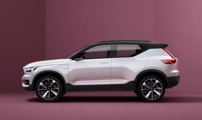 Volvo S40 and XC40 previewed by two special concepts