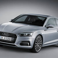 2016 Audi A5 Coupe officially unveiled