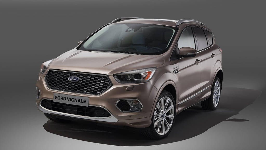 2016 Ford Kuga Vignale launched