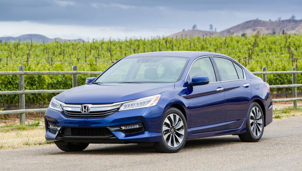 2016 Honda Accord Hybrid introduced in the US