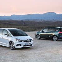 2016 Opel Zafira facelift - Official pictures and details