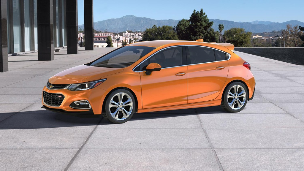 2017 Chevrolet Cruze Hatchback US pricing announced