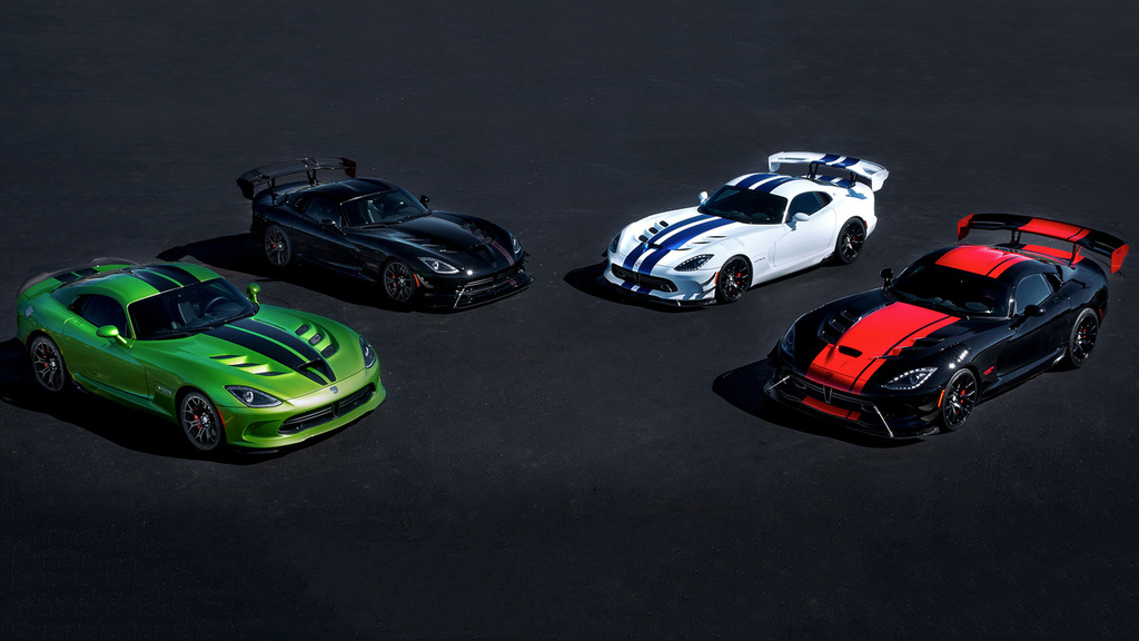 2017 Dodge Viper - The swan song comes in five special-edition models