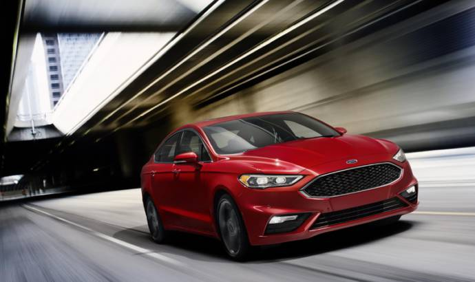 2017 Ford Fusion Sport introduced