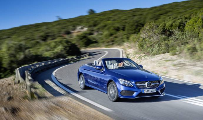 2017 Mercedes C-Class Cabriolet UK pricing announced