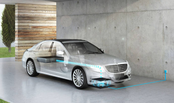 2017 Mercedes S 500e will have wireless charging
